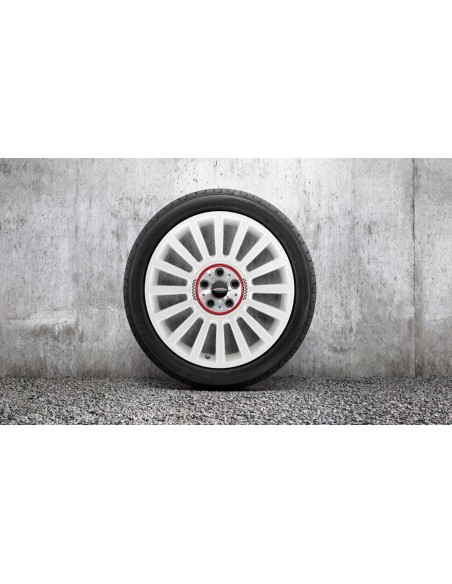 "Rally Spoke R536 Blanche 19"" pour Countryman JCW"