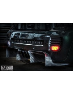 diffuseur arriére carboneRSI C6pour mini R561108