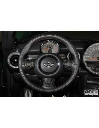inserts de volant carboneRSI C6 pour mini R561113