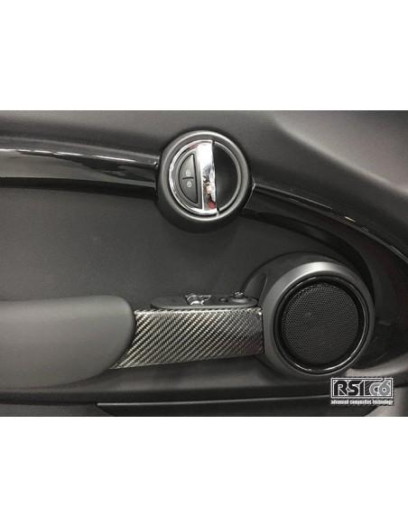 Poignées interieures en carbone RSI C6 pour MINI F56