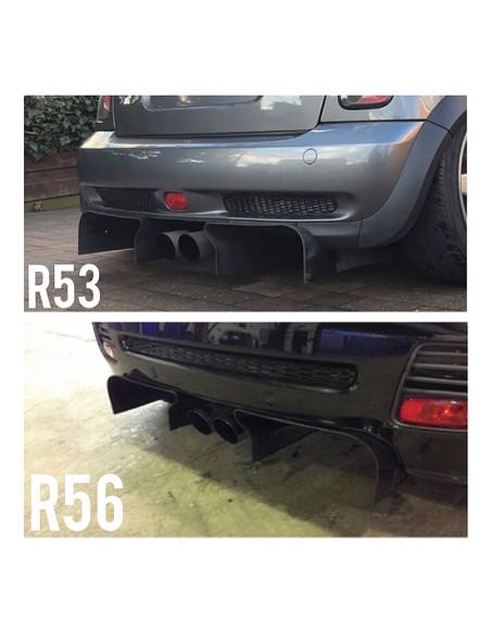 Diffuseur noir RSI C6 pour MINI R50 R53