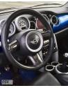 Caches insert de volant en carbone RSI C6 pour MINI R50 R53