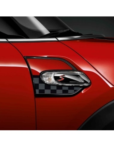 Jeu grand ouies  JCW Chequered pour MINI F56