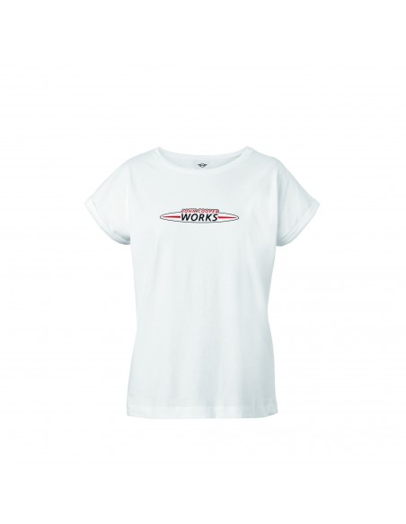 T-shirt femme Logo JCW blanc