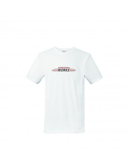 T-shirt homme Logo JCW blanc
