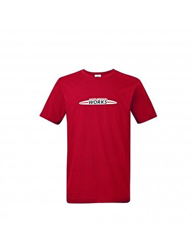 T-shirt homme Logo JCW rouge