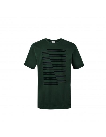 T-shirt homme Jcw Rayures Vert