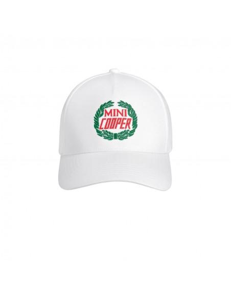 Casquette logo Mini Vintage Blanc