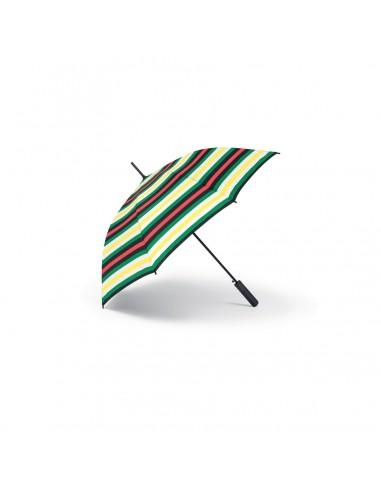 Parapluie Canne Mini à rayures