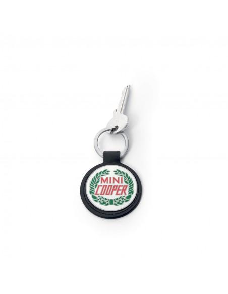 Porte cles logo vintage Mini