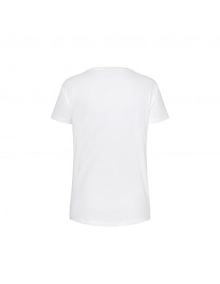 T-shirt femme logo mini vintage