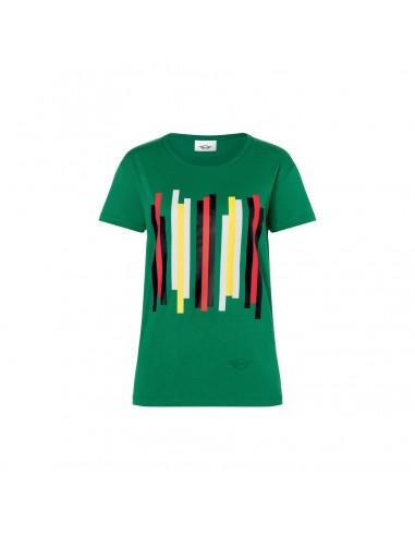 T-shirt femme mini rayures