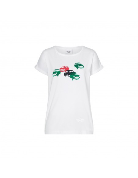 T-shirt femme mini voiture