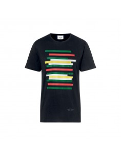 T-shirt homme mini rayures