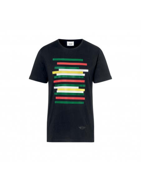 T-shirt homme mini rayures