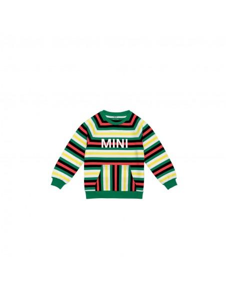 Sweat-shirt enfants Mini à rayures