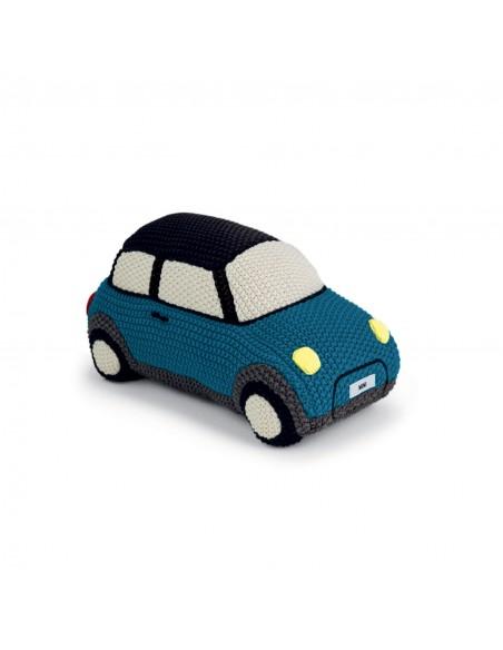 Mini en Tricot Bleu