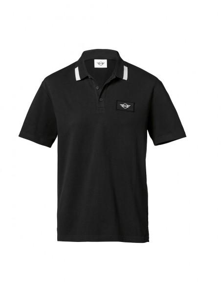 Polo Homme Noir Mini