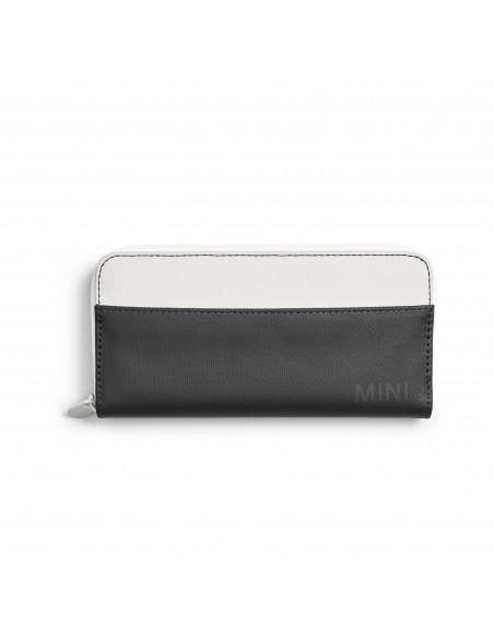 Portefeuille Blanc Mini Block