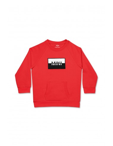 Sweat-shirt enfants Rouge Patch Mini