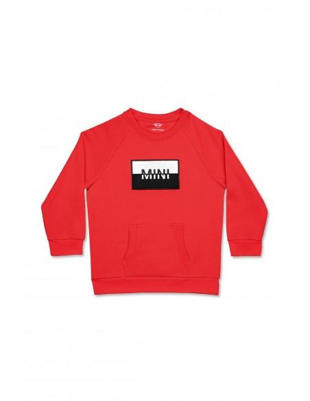 Sweat-shirt enfants Rouge Patch Mini