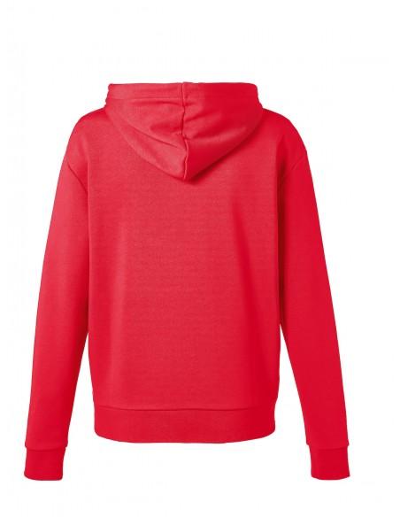 Sweat-shirt Femme Rouge Patch Mini