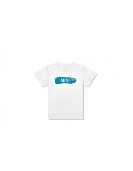 T-shirt Enfants Blanc Monogramme Mini