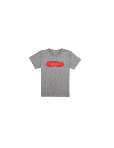 T-shirt Enfants Gris Monogramme Mini