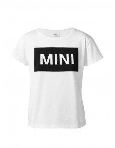 T-shirt Femme Blanc Monogramme Mini