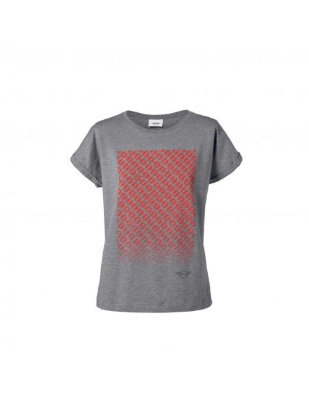 T-shirt Femme gris Signet Mini
