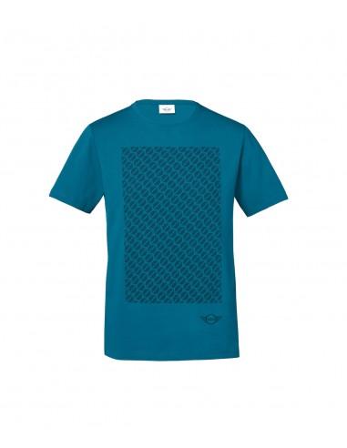 T-shirt Homme Bleu Signet Mini