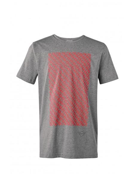 T-shirt Homme Gris Signet Mini