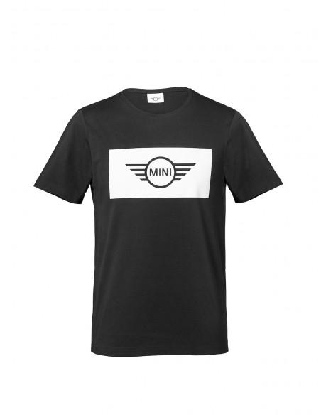 T-shirt Homme Noir Logo Aile