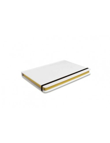 Carnet de note Mini Contrast Edge blanc