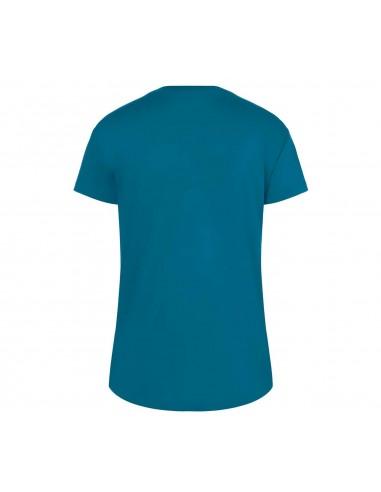 T-shirt femme bleu/noir Wordmark...