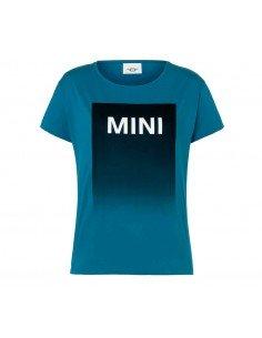 T-shirt femme bleu/noir...