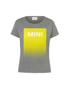 T-shirt femme gris/jaune...