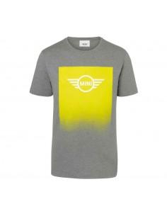 T-shirt homme gris/jaune...