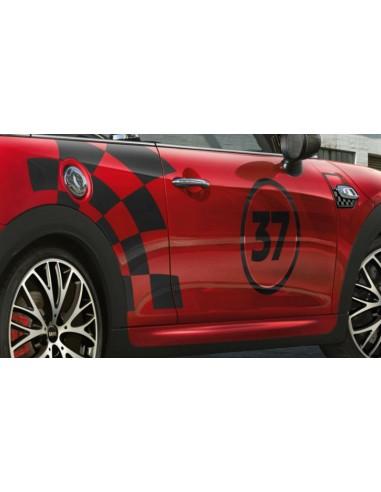 Bandes Latérales JCW Racing pour MINI...