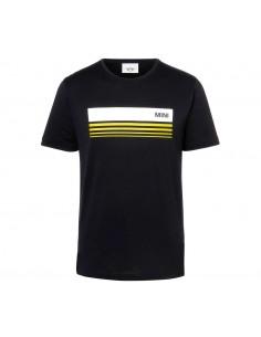 T-shirt homme noir/jaune...