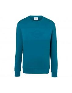 Sweat-shirt homme bleu wing...
