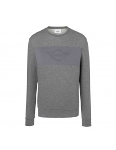 Sweat-shirt homme gris wing...