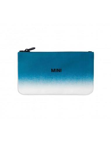 Pochette MINI Pouch bleue/noire