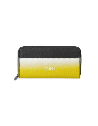Portefeuille Mini jaune/blanc/gris
