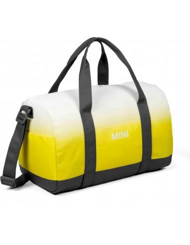 Sac Duffle Mini jaune/gris/blanc