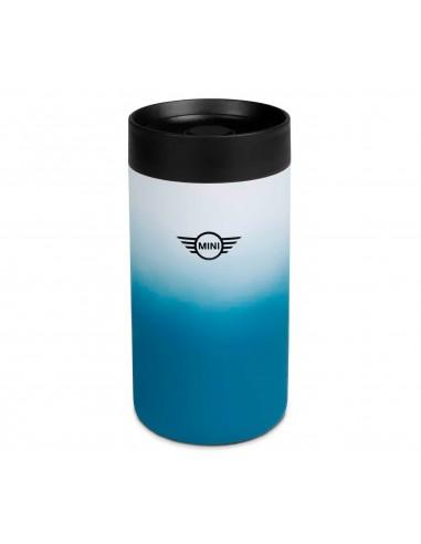 Mug de voyage bleu/noir