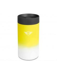 Mug de voyage jaune/gris